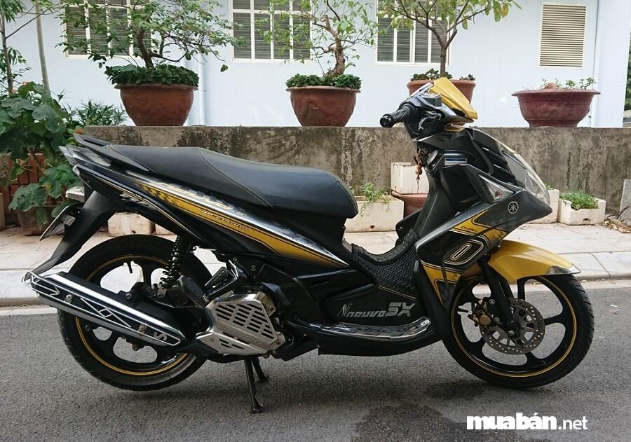 Yamaha Nouvo 5 được trang bị khối động cơ mạnh mẽ