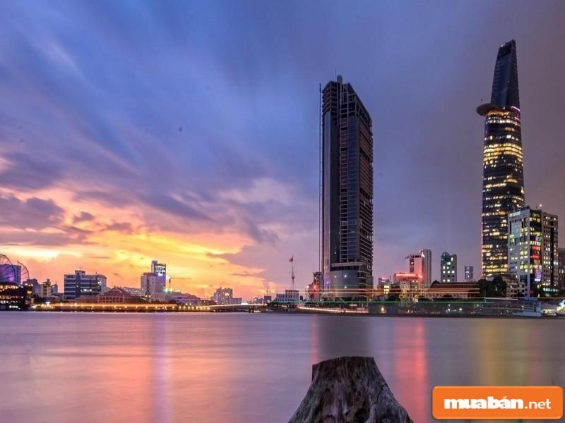 Dự án Saigonres Plaza có view tuyệt đẹp