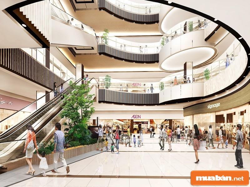 5 tầng thương mại của Saigonres Plaza
