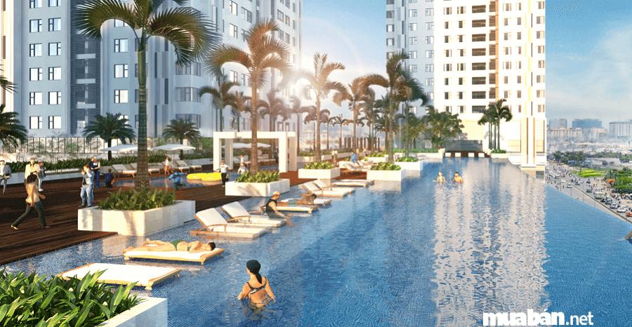 Toàn bộ Sunrise City được đầu tư kỹ, thiết kế theo tiêu chuẩn của khách sạn 5 sao.