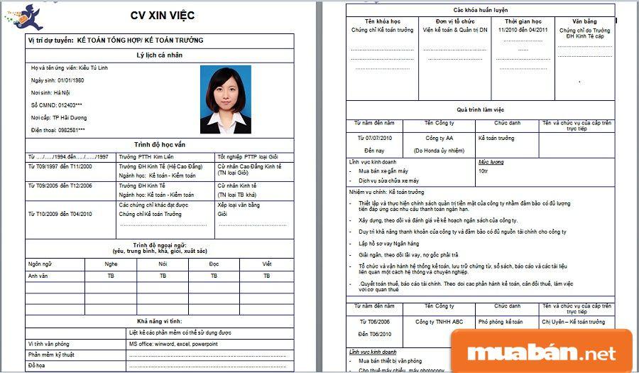 Hãy đầu tư vào một bản CV xin việc thật đầy đủ, thu hút và ấn tượng.