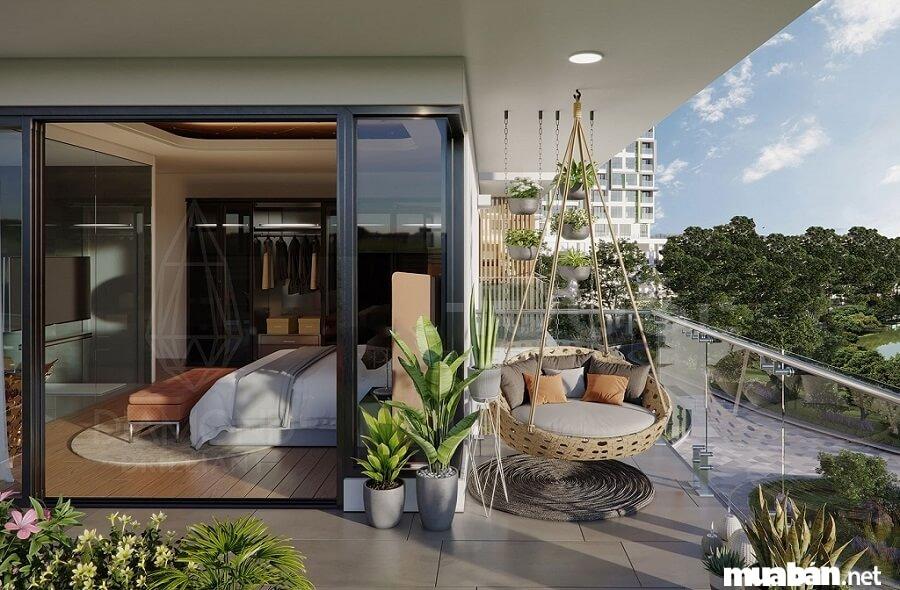 Mỗi căn nhà tại Diamond Brilliant được thiết kế mở.