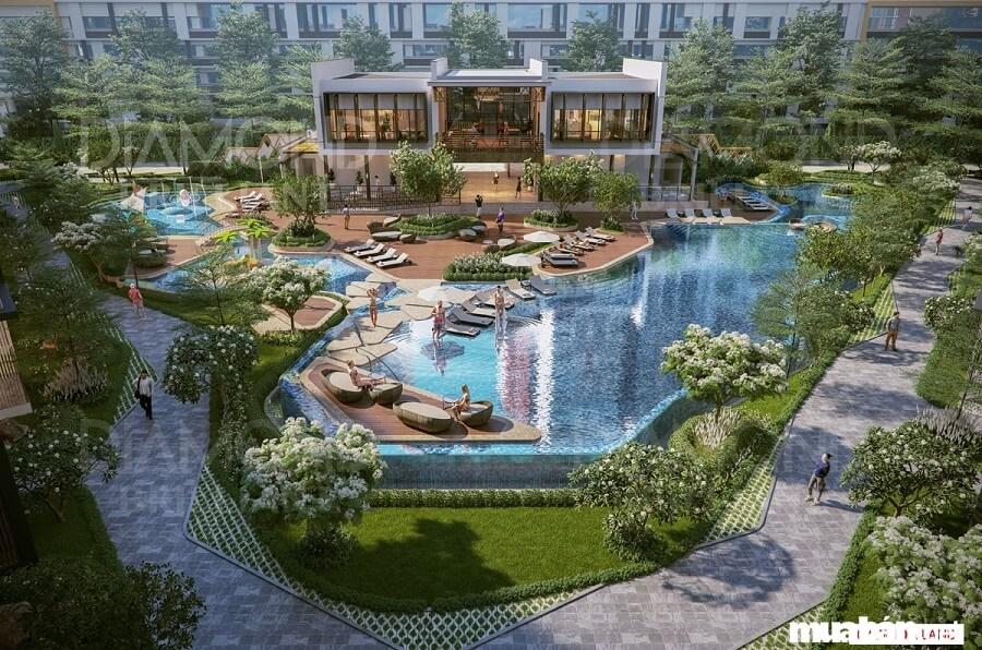 Diamond Brilliant là dòng sản phẩm căn hộ cao cấp của dự án Celadon City,