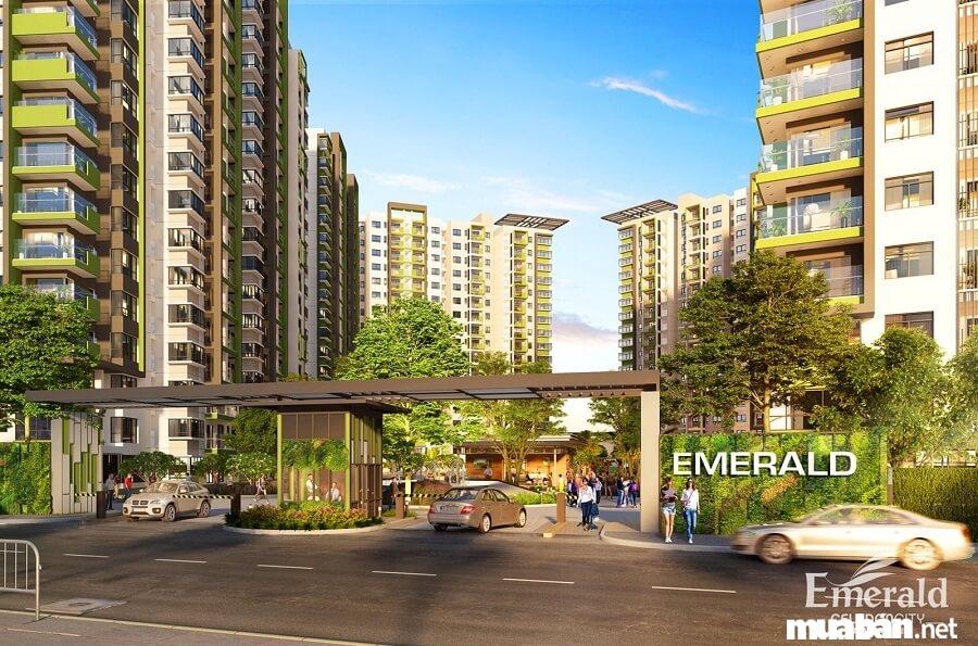 Khu căn hộ Emerald Precinct của dự án Celadon City