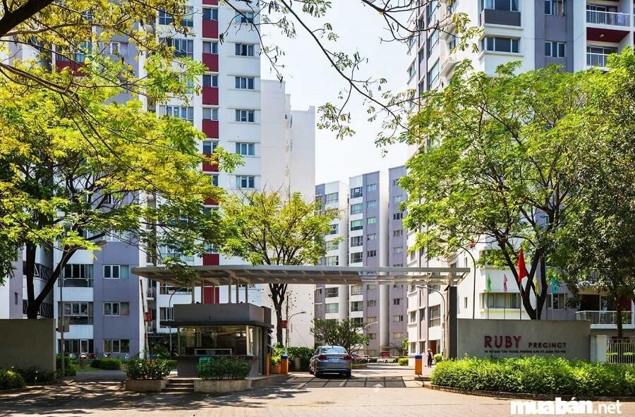 Không gian thoáng đãng, không khí trong lành, môi trường sống xanh, hệ thống tiện ích đầy đủ là những gì căn hộ Ruby mang tới cho khách hàng.