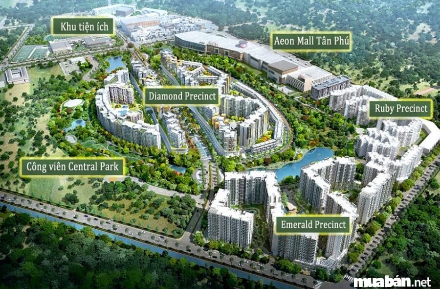 Tổng quan về khu đô thị Celadon City Tân Phú.