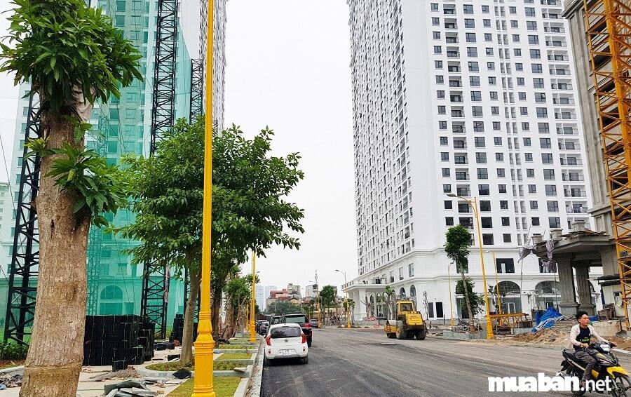 Eco Lake View gồm 3 tòa nhà. Trong đó, có 2 tòa cao 32 tầng. 1 tòa thương mại và đỗ xe