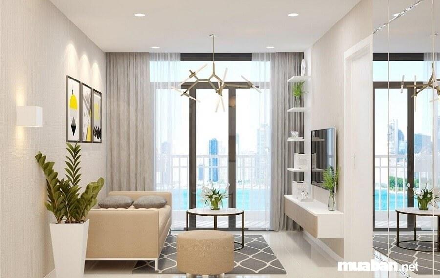 Các căn hộ tại dự án High Intela được chủ đầu tư bố trí hợp lý và có phong thủy tốt.