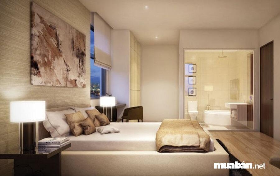 Nội thất căn hộ Jamona Heights được thiết kế theo phong cách Hàn Quốc