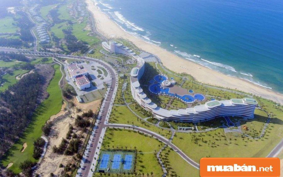 Giá đất tại Bình Định đang có xu hướng tăng trong vài năm gần đây.