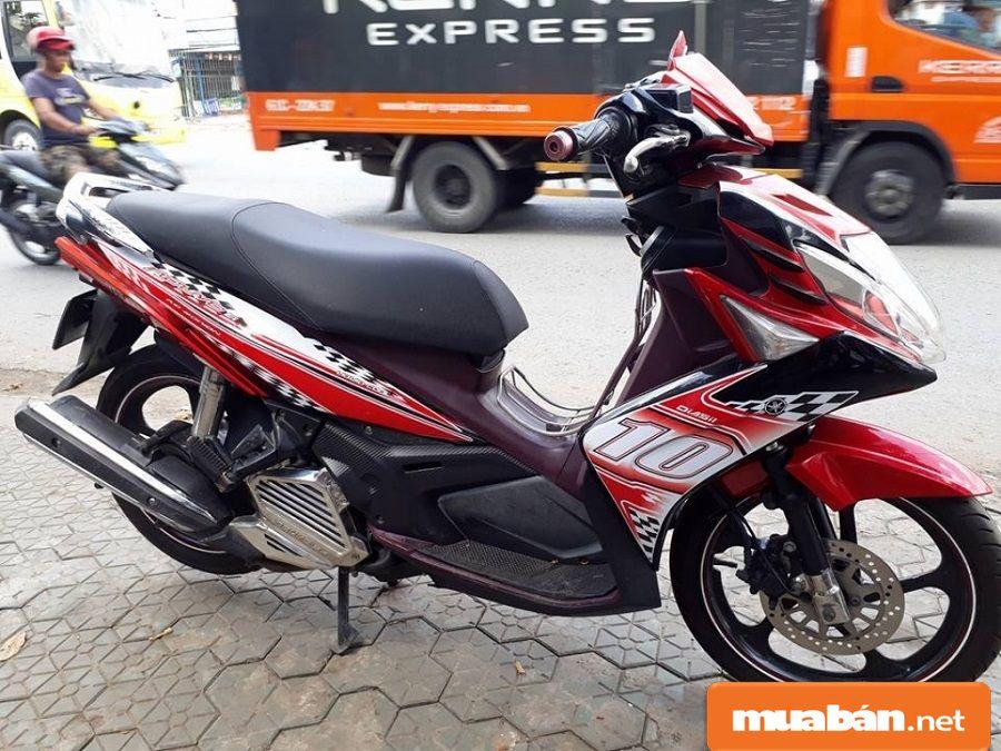 Ở đời xe này, Yamaha đã thêm tính năng phun xăng điện tử cho xe.