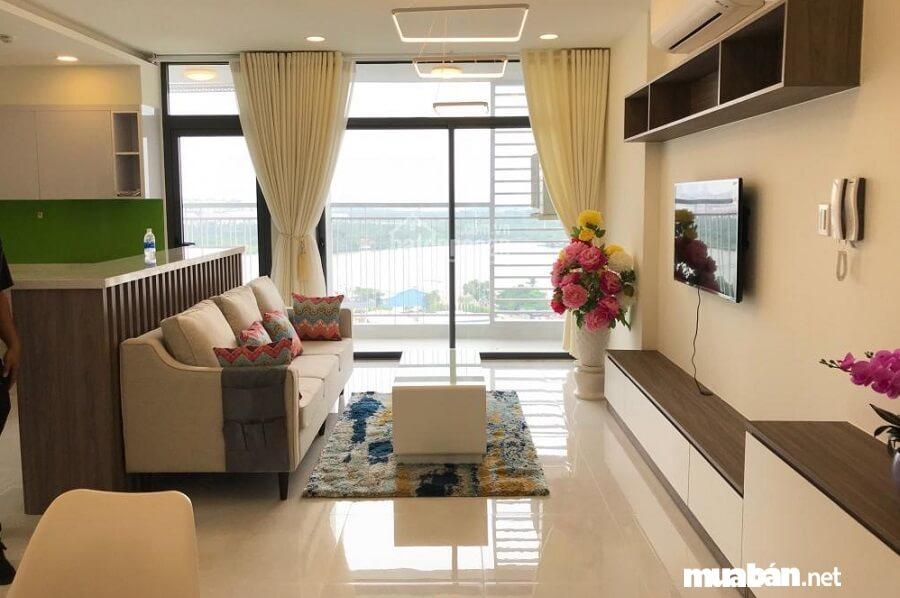 Các căn hộ Riva Park bàn giao cho người mua đã hoàn thiện đầy đủ nội thất.