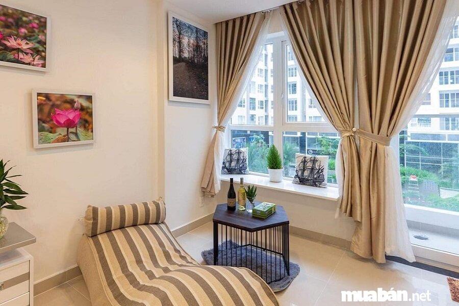 Thiết kế căn hộ hiện đại, phong cách Châu Âu