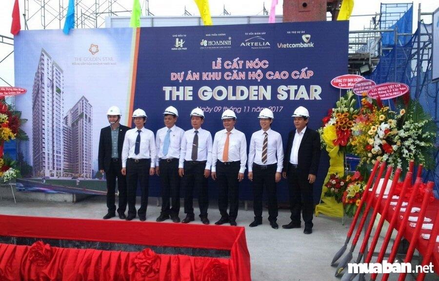 Dự án căn hộ The Golden Star do Công ty Hưng Lộc Phát làm chủ đầu tư.