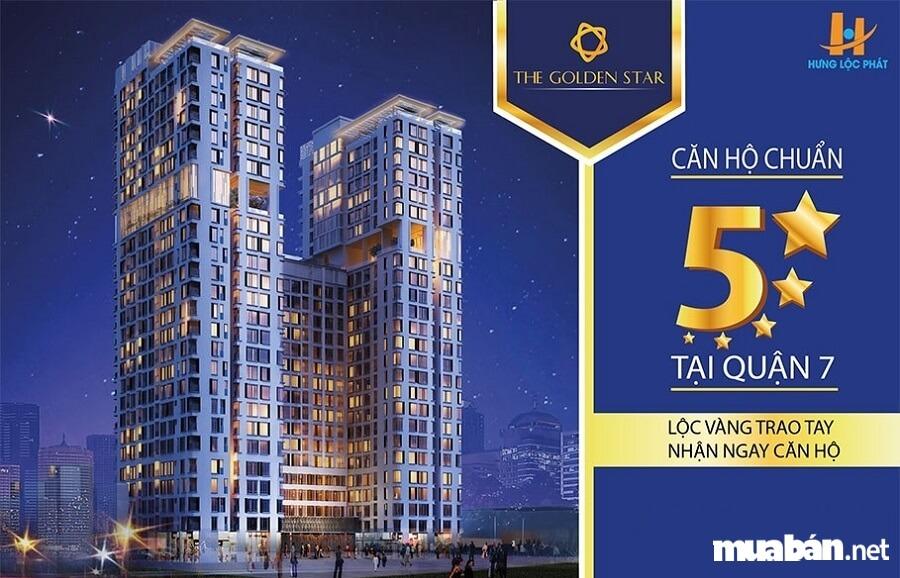 """Dự án căn hộ cao cấp The Golden Star Quận 7 và 8 ưu điểm """"đáng tiền"""""""