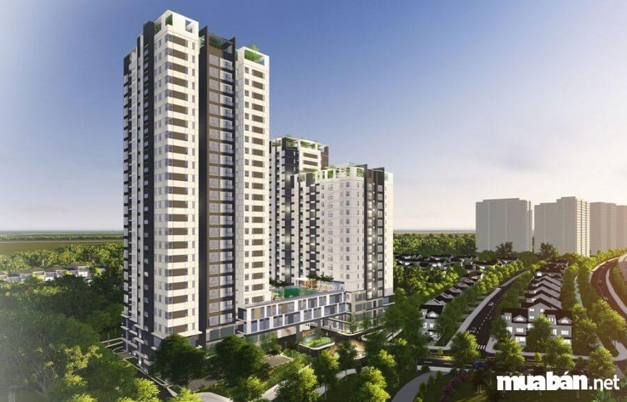 50 khách hàng đầu tiên mua căn hộ dự án này sẽ nhận 5 chỉ vàng SJC.