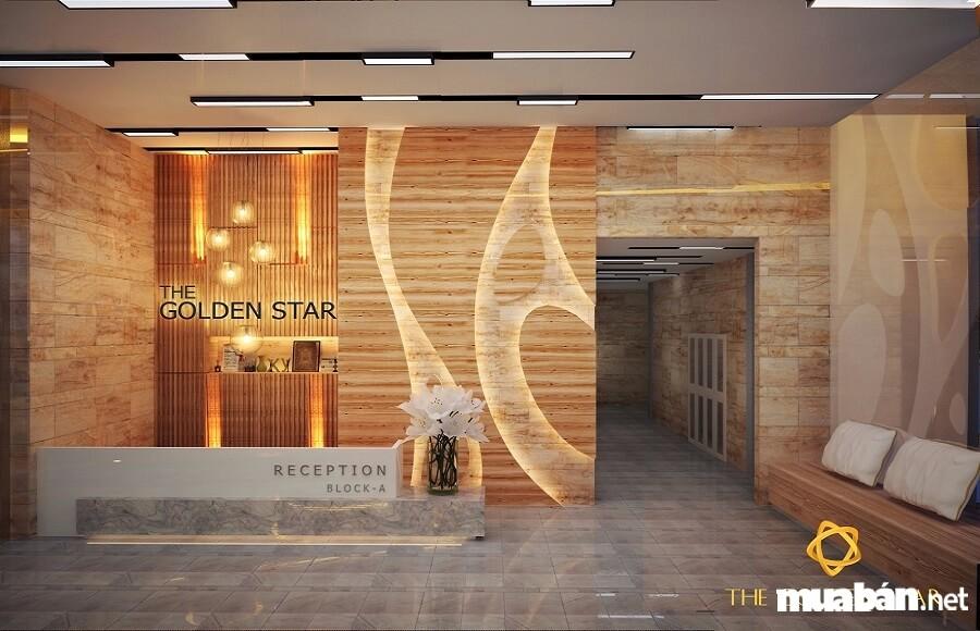 The Golden Star được trang bị những vật liệu cao cấp thường thấy ở các dự án đạt tiêu chuẩn 5 sao.