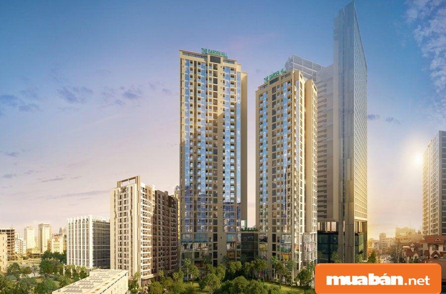 Loại hình phát triển dự án là căn hộ cao cấp kết hợp văn phòng và Trung tâm thương mại.