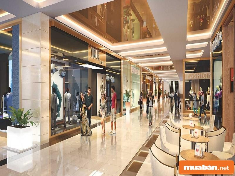Trung tâm thương mại của dự án
