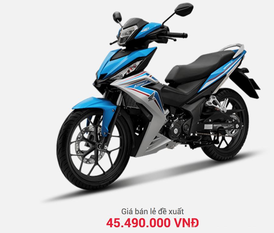 Giá xe Winner tháng 9 2019 tại các đại lý Honda trên cả nước vừa có sự điều chỉnh giảm nhẹ.