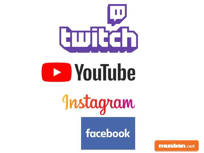Cần tìm việc làm qua facebook, youtube, influencers, instagram, youtube