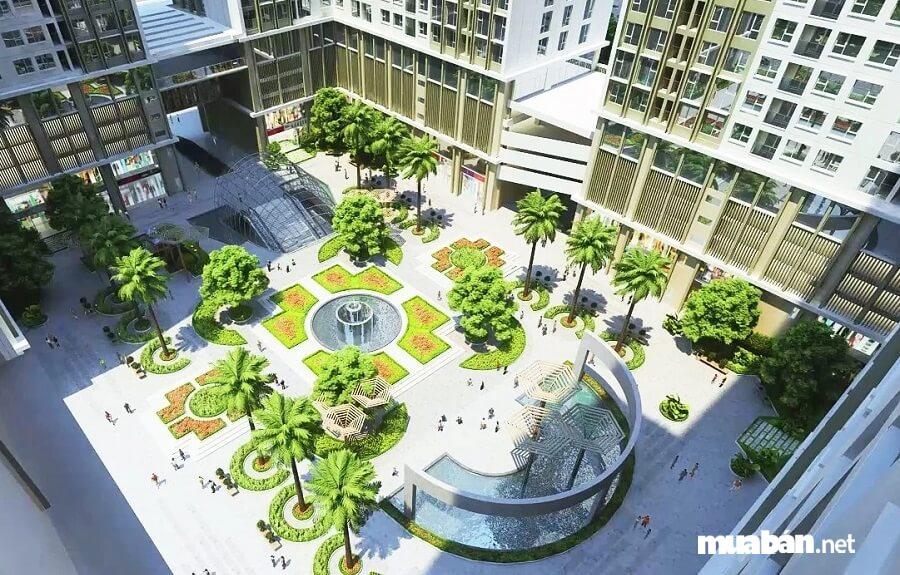 """Eco Green City là một trong số ít dự án bất động sản được vinh danh là """"Thương hiệu vì Môi trường Xanh Quốc gia""""."""