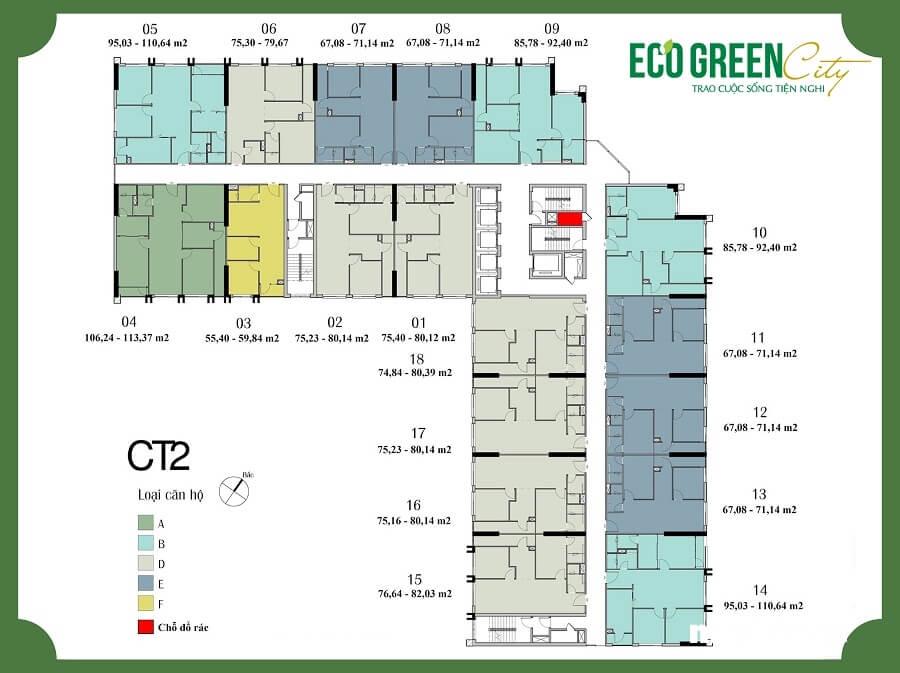 Eco Green City được các khách hàng ưa chuộng là vì giá bán tốt, nhiều ưu đãi từ chủ đầu tư.