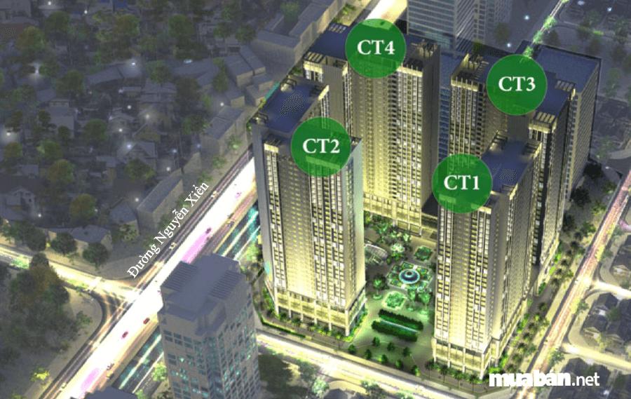 Eco Green City Nguyễn Xiển là một trong những dự án bất động sản thuộc khu đô thị Tây Nam Kim Giang.