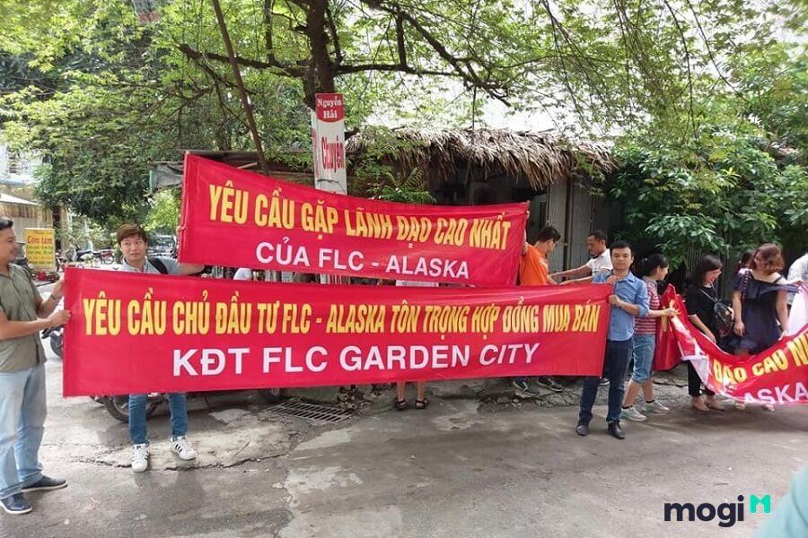 Nhiều sai phạm quanh dự án FLC Garden Đại Mỗ.