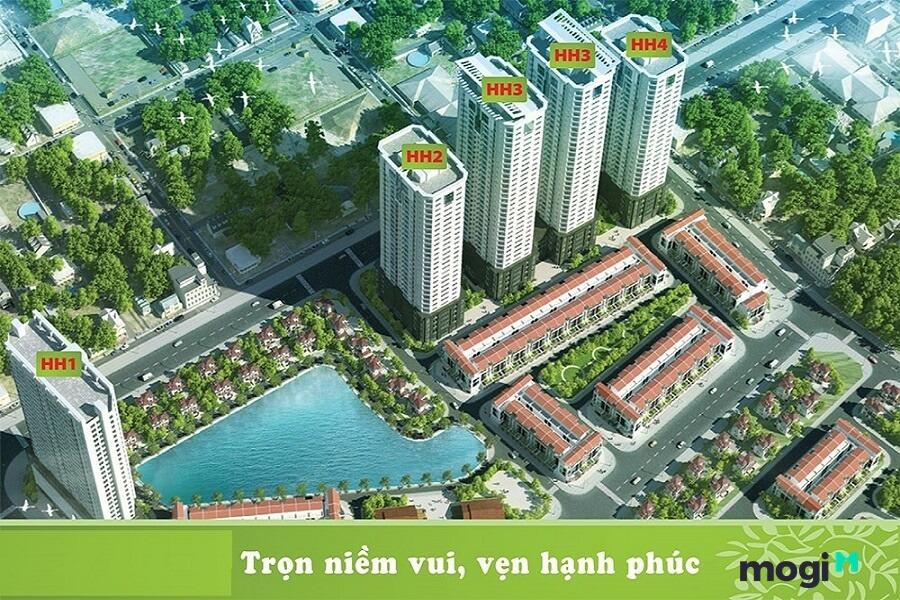 Các căn hộ tại FLC Garden City đều được thiết kế với nhiều loại diện tích.