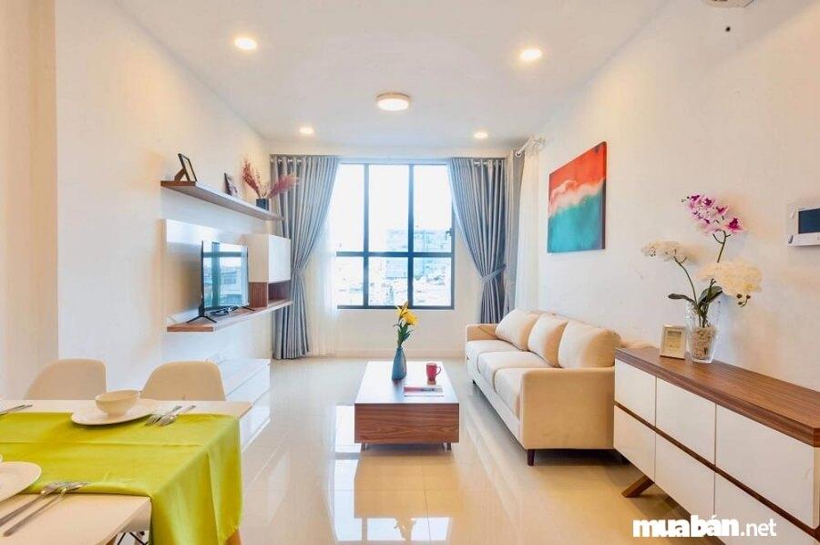 Giá bán căn hộ chung cư tại dự án Icon 56 đang được giao dịch trên thị trường từ 2 tỷ/căn 2 phòng ngủ.