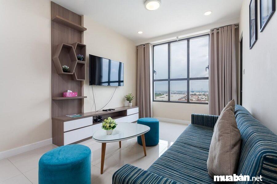 Căn hộ Icon 56 gồm 1 block đơn duy nhất, cao 25 tầng với 2 tầng hầm.