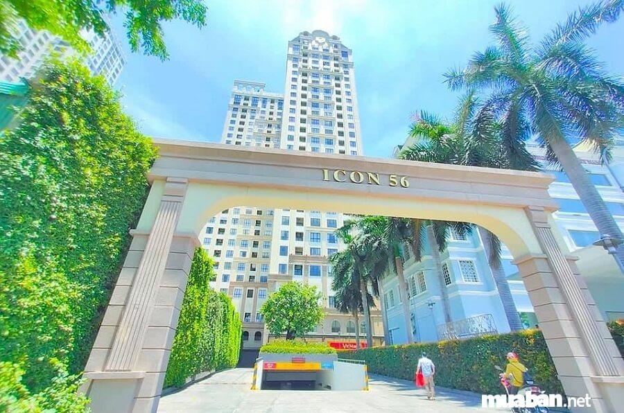 """Nằm trên tuyến đường Bến Vân Đồn với hướng nhìn trực diện sông Sài Gòn và trung tâm tài chính Thành phố """"phố Wall""""."""