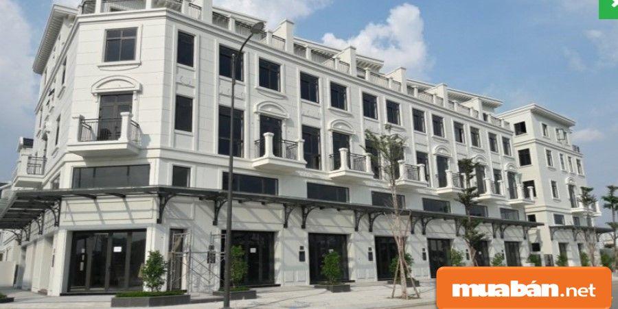 Dãy nhà phố hiện đại sang trọng, tiện nghi trong khu đô thị đầy đủ tiện ích nhất.