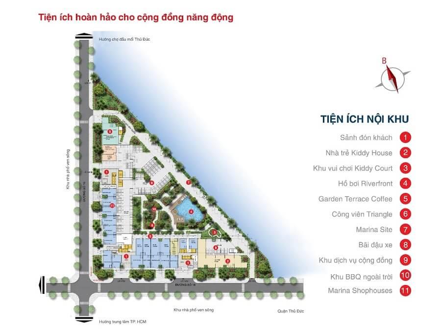 Có đến 80% căn hộ view sông tại Marina Tower