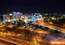 Cảnh đêm ở Cà Mau
