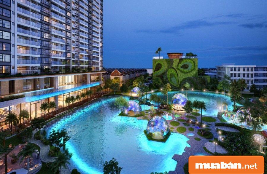 Dự án này được thiết kế với các hồ bơi cao cấp và sang trọng nhất.