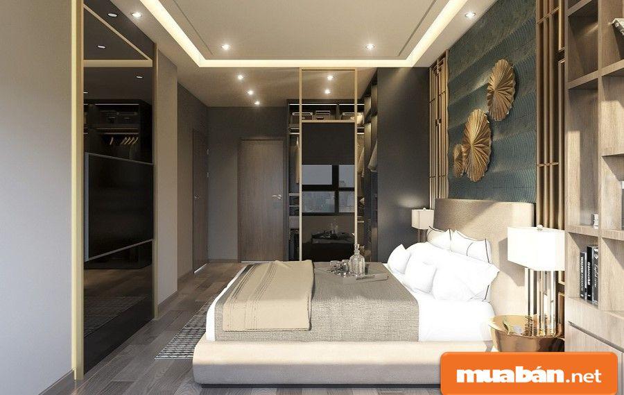"""Không gian căn hộ và các tiện ích xung quanh thích hợp cho một nơi """"an cư"""" sang trọng."""