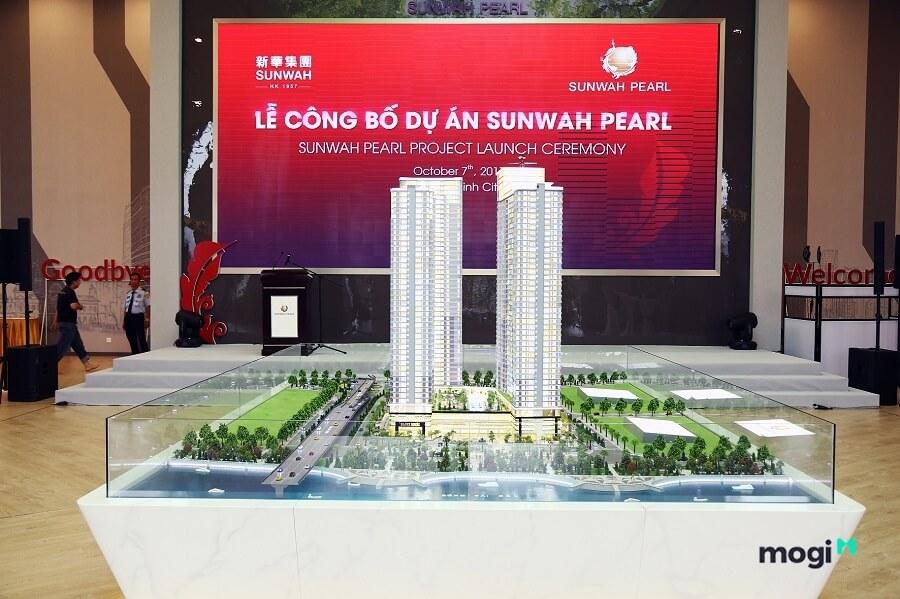 Dự án căn hộ Sunwah Pearl Sài Gòn được tài trợ bởi 100% nguồn vốn nước ngoài.