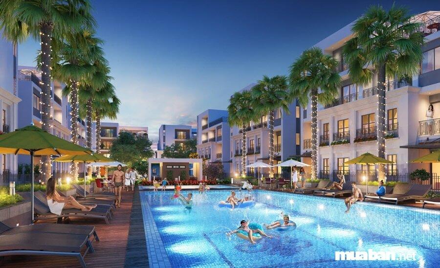 Dự án The Manor hội tụ đầy đủ mọi tiện ích đỉnh cao của một đô thị phức hợp.