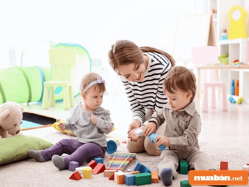 Bạn có định trông trẻ khi tìm việc làm thêm tại nhà?