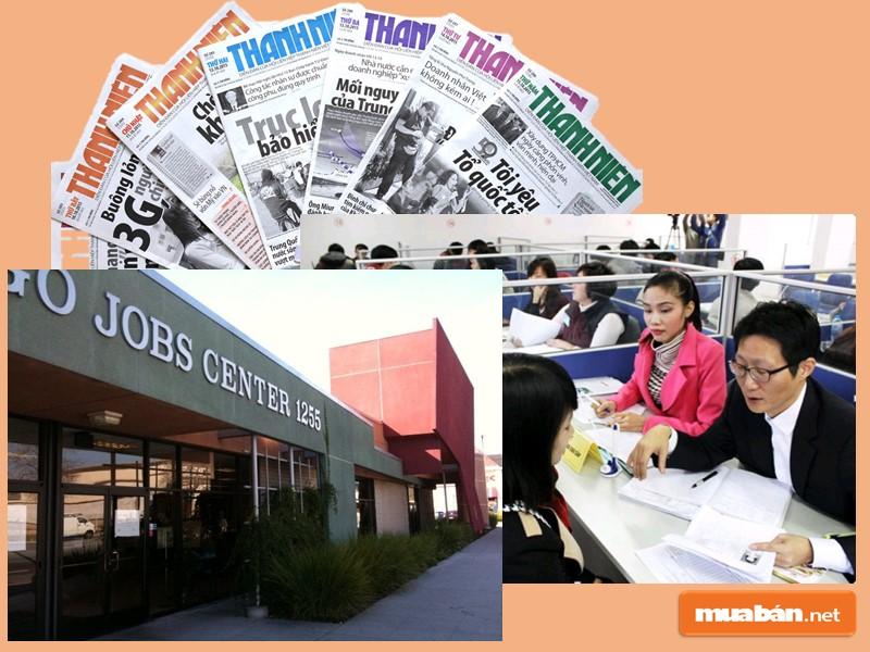 Tuyển tạp vụ văn phòng lương cao thông qua những kênh truyền thống