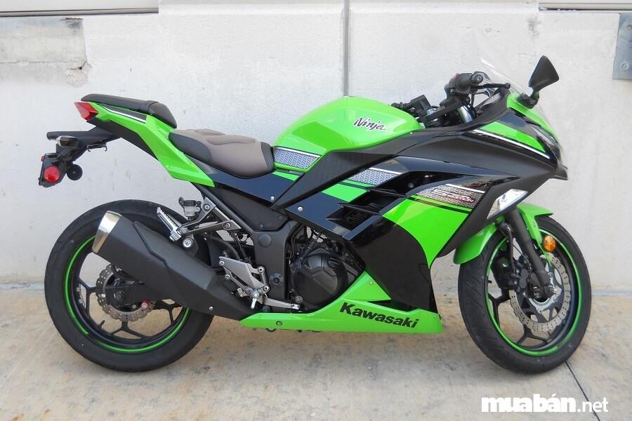 Giá bán lẻ đề xuất của Kawasaki Ninja 300 là 196.000.000 đồng (đã có thuế GTGT).