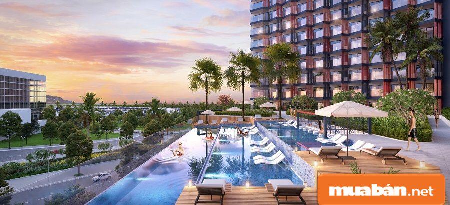 Du lịch phát triển thì loại hình bất động sản nghỉ dưỡng trở nên hấp dẫn đầu tư.