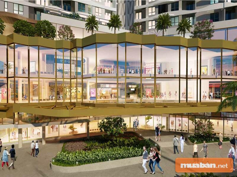 Trung tâm thương mại sẽ mang tới cho cư dân mọi thứ trong cuộc sống