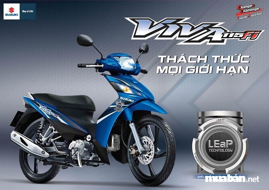 Suzuki Viva 115 có giá đề xuất từ 21-22,5 triệu đồng.
