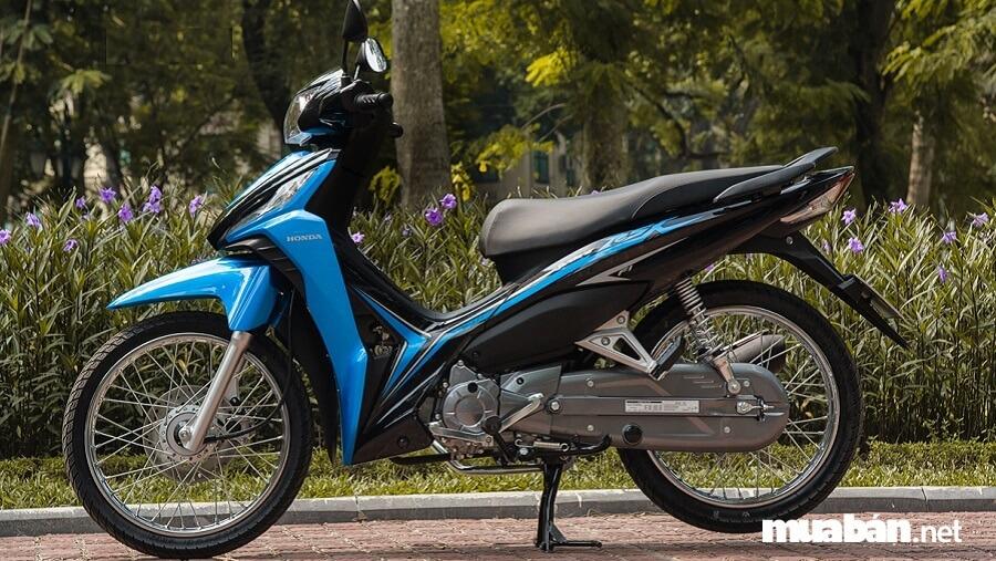 Wave RSX 110 mới vẫn được Honda giữ nguyên thiết kế