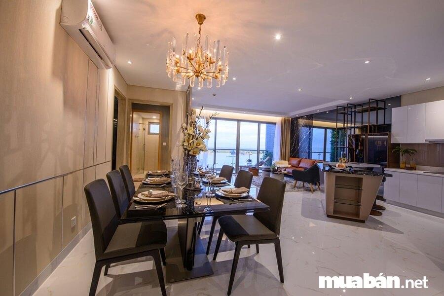 Giá bán căn hộ An Gia Riverside từ 1, 3 tỷ / căn hộ diện tích 51m2.