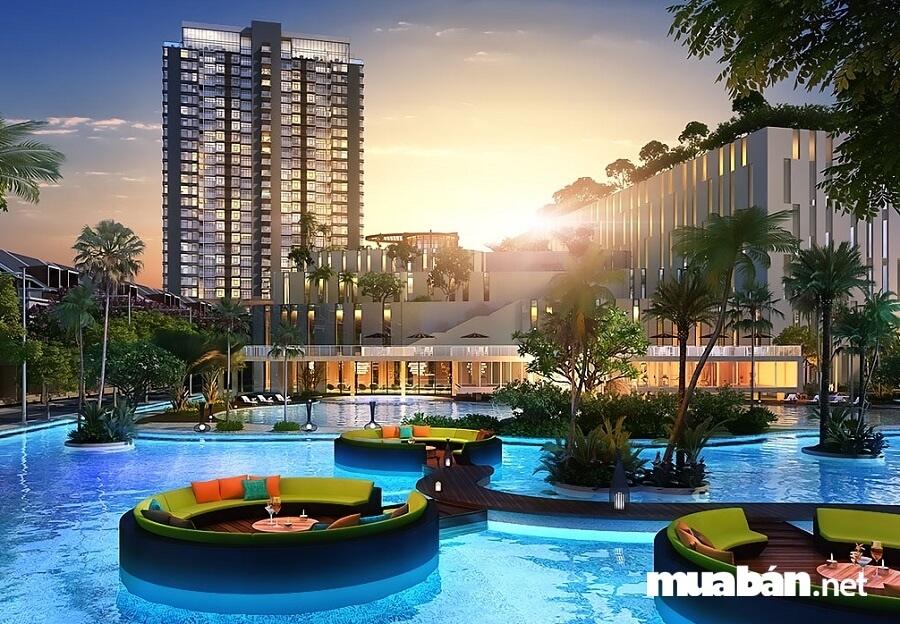 Đặc biệt, dự án còn được quy hoạch theo mô hình lấy ý tưởng từ mô hình phát triển của Singapore.