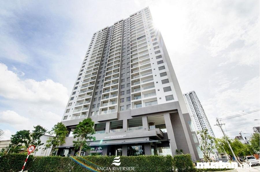 Dự án gồm 1 tầng hầm, 1 tầng thương mại, 1 tầng dịch vụ, 23 tầng căn hộ.